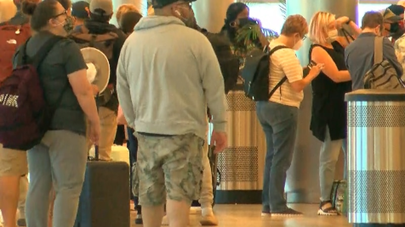 Myrtle Beach International Airport was the busiest airport in South Carolina during the summer...