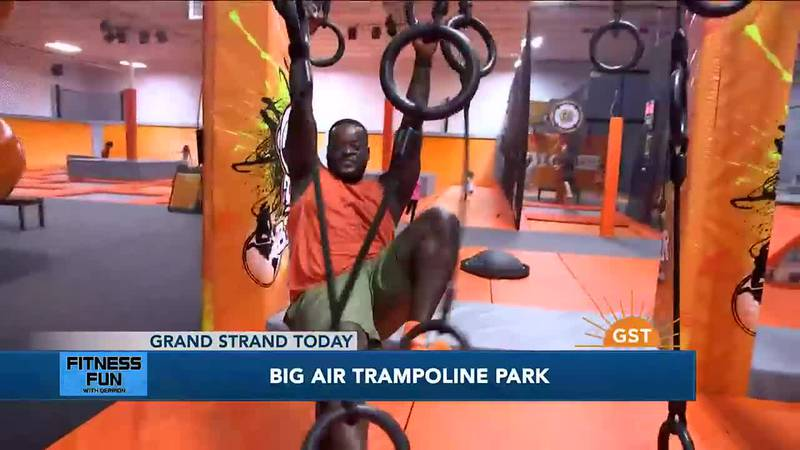 Fitness Fun with Derrion - Big Air Trampoline Park