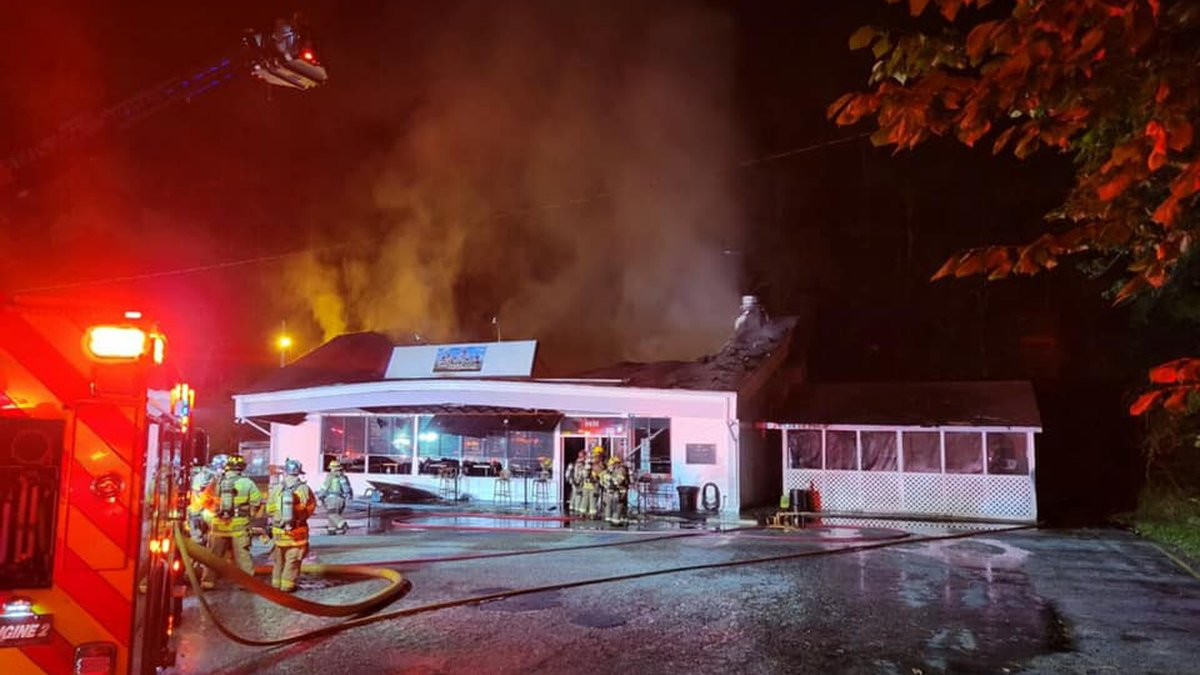 A second-alarm fire broke out at the  Windjammer Pub in Little River last month.