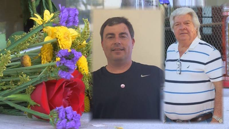 Sparky (left) and Steve Johnson died in a shooting at Waccamaw Bingo in 2019.