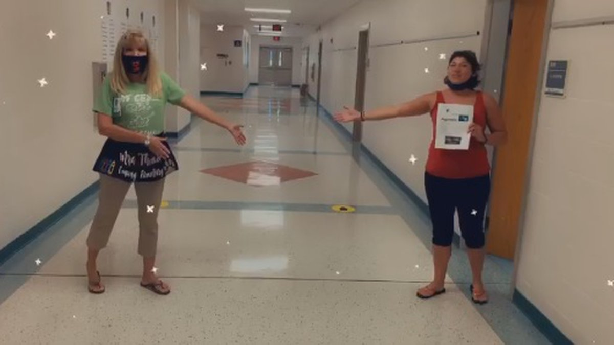 Horry County students start the school year Tuesday, and teachers at Conway Elementary School...