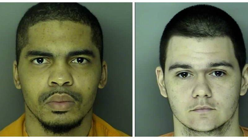 Left: Douglas Thomas, Right: Mitchell Cheatham. (Source: 15th District Solicitor's Office)