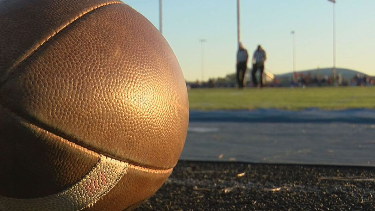 COVID-19 has struck again, once again causing more cancellations of high school football games...
