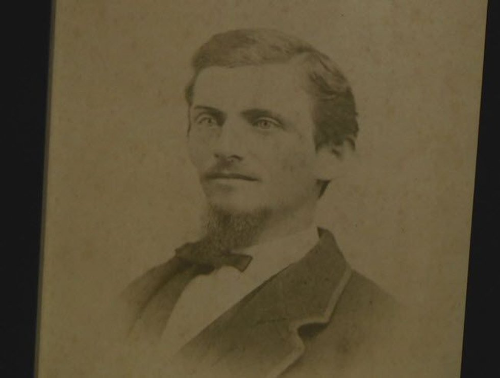 The Wilson family thinks the man their son saw was the original owner of the house, William...